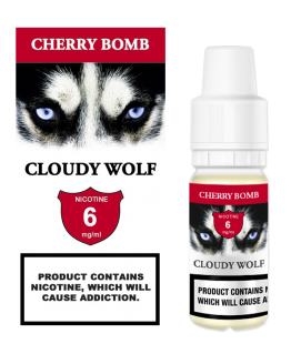 Cherry Bomb Cloudy Wolf 6mg