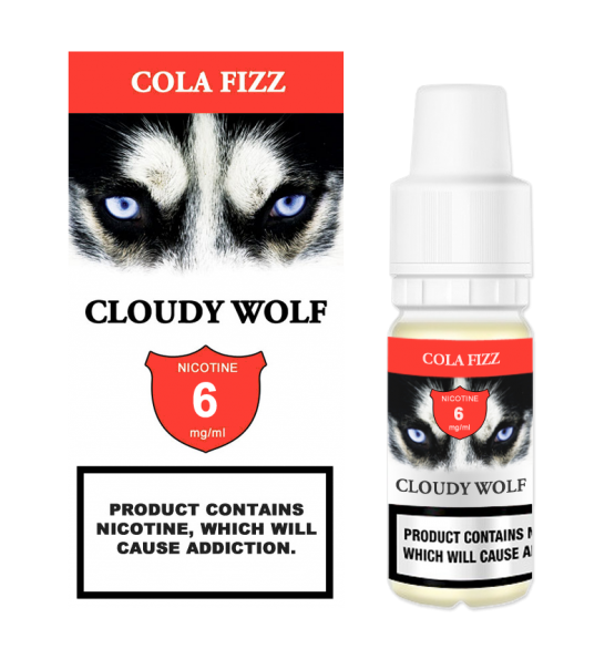 Cola Fizz Cloudy Wolf 6mg