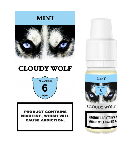 Mint Cloudy Wolf 6mg