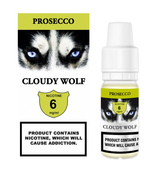 Prosecco Cloudy Wolf 6mg